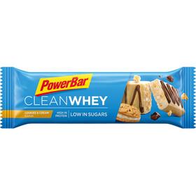 PowerBar Clean Whey Confezione di barrette 18x45g, Cookies & Cream